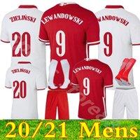 2022 الرجال بولسكا لكرة القدم جيرسي المنزل بعيدا 21 22 piszczek milik بولندا الشباب lewandowski الفانيلة الاطفال عدة كرة القدم قمصان الزي الرسمي