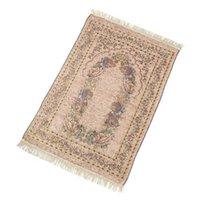 Alfombras Ramadán Quran Islámico Musulmán Oración Rug Alfombra Magada Tassel Cubra Cubierta Yoga Ser88