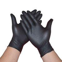 Cinq doigts Gants 20 50pcs Jetable Latex nitrile universel Jardinage Jardinage à la vaisselle Nettoyage ménage Blanc Blanc Bleu Temps limité