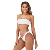 MS Bañador Sujetador Sujetal Sólido Color Sexy Fugas Bikini Bikini Split Bañador Femenino