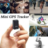 Parts GF07 GSM Mini Car LBS Tracker Magnetic Vehicle Truck GPS Locator Anti-Lost Recording Tracking Device Can Voice Control For Pet
