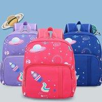 حقيبة الظهر للأطفال المدرسية طالب الكرتون لطيف طباعة الفتيان والفتيات حقيبة الكتف للأطفال 3-6 سنوات