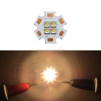 Bulbs 12W Cree XPE2 XP-E2 4Leds Led Emitter Light 6V/12V Cool White/Warm White 5700-6500K/2900-3200K On 20MM Copper PCB Board