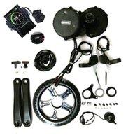 36V 500W 8FUN / BAFANG BBS02 Motore a manovella Eletric Bicycles Kit Ebike con display LCD C965 / 850C