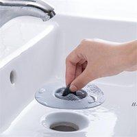 Drenaje de pisos anti-bloqueo Silicona Smoker Sticker Filtro Filtro Tapón Tapón Cuarto de baño Cocina Fregadero Accesorios DWF6956