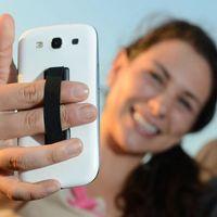 Porte-bague Titulaire Bande à main de téléphone en silicone pour téléphone portable 11 xiaomi bracelet sangle push pull poignée support de support en gros