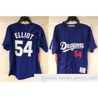 Billig Mr. Baseball Jack Elliot Chunichi Dragons Movie Baseball Jersey Mens Nähte Trikots Shirts Größe S-XXXL Schneller Versand
