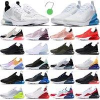 air max 270 airmax 270s running shoes 270 scarpe da corsa da uomo scarpe da ginnastica da esterno University Blue Triple Black White 270s uomo donna sneakers sportive