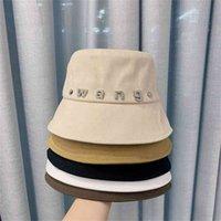 2021 spring summer new Korean king diamond fisherman's Hat Women's flat top leisure fashion versatile basin hat sunscreen and sunshade
