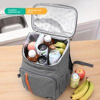 Storage Bags Waterproof Cooler Backpack Women Camping Food Thermobag Car Drink Refrigerator Delivery Insulated Pouch Accessories Item