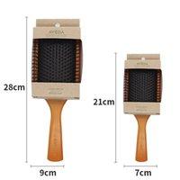 AVEDA Paddle Brush Brosse Club Massage Massage Capazzole per capelli PORNICE Prevenire il trichomadesi Capelli massaggiatore Size S L con pacchetto al dettaglio