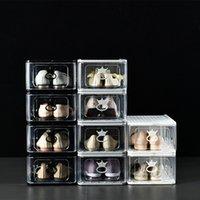 Высококачественная коробка для обуви Большой размер Антиокисление Коллекция Дисплей Кабинета Ящик Стиль AJ Кроссовки
