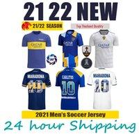 2021 2022 BOCA Juniors Soccer Jersey de Rossi Tevez Boca 22 22 Camiseta Carlitos Maradona Футбольная мужская рубашка Abila Boca JRS Kids Kit