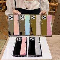 Fashion Phone Cases for Iphone 12 Pro Max 12mini 11 11Pro 11proMax X XS XR XSMAX 7P 8P 7 8 PLUS TPU Mirror Protection Case Designer Cover