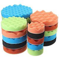 Care Products 7 Pcs 3 5 6 7 Inch Polishing Pads Set Waxing Buffing Pad Sponge Kit For Car Polisher Maintenance