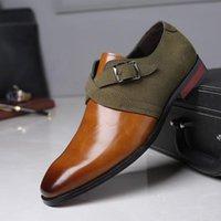 Kleid Schuhe Mode Männer Leder Derby Hochzeit Müßiggänger Business Office Oxfords Chaussures