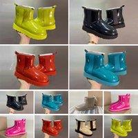 أحذية الثلوج للماء أحذية أطفال بيلي 2 الانحناء جلد طبيعي الصغار الصلبة botas دي نيف الشتاء الفتيات الأحذية طفل