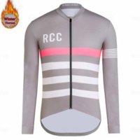 RCC Raphaing 2020 الدراجات جيرسي طويلة الأكمام الرجال الشتاء الحراري الصوف مايلوت ciclismo mtb دراجة دراجة جيرسي مايلوت ciclismo