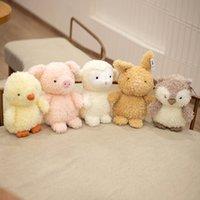 Tiere ausgestopfte Plüsch Puppe Niedliche Spielzeug Schwein Simulation Baby Weibliche Hund Kleine Kinder Mädchen Tier