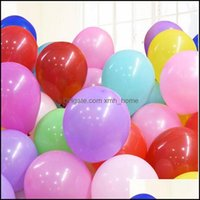 Event Festive Party Supplies Home & Gardenparty Decoration 100Pcs Round Latex Balloon 10 Inch Romantic Wedding Clear Birthday Kids Baby Drop