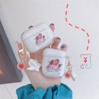 Cartoon Cupid Silicone Transparent Cases for Apple Airpods 1 2 Pro 3 Protective Bluetooth Wireless Earphone Cover Accessories