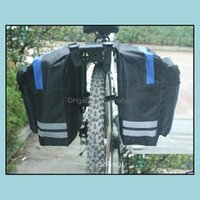 Panniers Sports & Outdoorsblack Cycling Saddle Bike Bags Pvc And Nylon Waterproof Double Side Rear Rack Tail Seat Bag Pannier Bicycle Aessor
