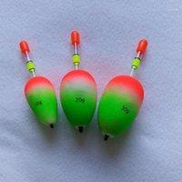 5 stücke Lightweight EVA Leuchtende Floats Schaum Floating Tube Sea Rock Fishing Boje Schlagarze Harte Schwanz Bauch Fisch Werkzeug Zubehör1