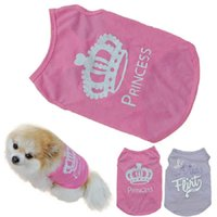 Dog Apparel Selling 2021 Fashion Puppy Summer T-Shirt Small Cat Pet Clothes Vest T Shirt 425