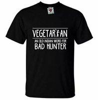 Camiseta de los hombres vegetarianos Funny Carne Comeers Vegan Joke Risa Dieta Regalo
