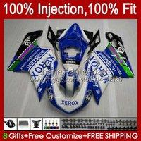 Bodywork Injection For DUCATI 848 1098 1198 S R 1198R 07 08 09 10 11 12 Body 18No.99 848S 848R 1098R 07-12 1098S 1198S 2007 2008 2009 2010 2011 2012 OEM Blue XEROX Fairing