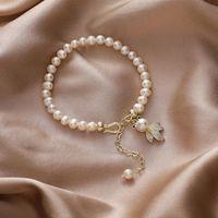Bangle Freshwater Pearl Goldfish Bracelet Women Bracelets Jewelry