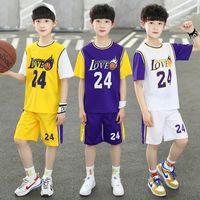 Kids Roupas Define Crianças Basquetebol 2 Pcs Suits Meninos Meninas Jersey Shorts Designers Baby Tracksuits Soccer Outfits Boutique
