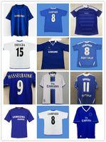 Lampard 2011 2012 2013 دروجبا 1994 1995 ريترو لكرة القدم جيرسي توريس 11 12 النهائي 96 97 97 كرة القدم قمصان Camiseta Crespo Hughes 03 05 06 Cole Zola Vialli 07 08