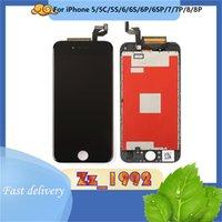 Cep Telefonu Panelleri Genel Kalite Cam LCD iPhone 5/6/6 P / 6 S / 6SP / 7/7 P / 8/8 P Dokunmatik Ekran Değiştirme Ekran Montaj Digitizer