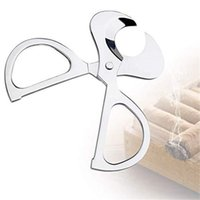 Stainless Steel Cigar Cutter Knife Sharp Durable Metal Cigar Scissors Portable Tobacco Cigars Tool Smoking Accessories