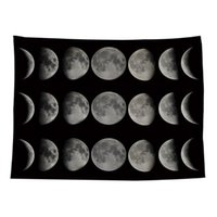 Arazzi Pawaca in modo stellato Starry Sky Stampa Camera da letto Ristorante Tapestry Sfondo Panno Panno Macchina-Lavaso Polvere senza polvere