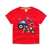 2021 natal meninos meninas mangas curtas camisetas Crianças tshirt letra impressão t camisa de bebé tops crianças casuais
