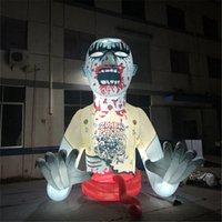 Sale Outdoor Halloween Decoration Giant Inflatable Devil Ghost Zombie with LED Lights