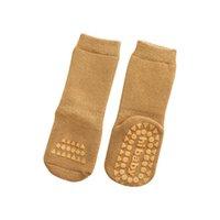 Lawadka Yenidoğan Çorap Kızlar Için Anti Kayma Pamuk Erkek Bebek Çorap Kış Kalın Terry Bebek Bebek Kız Çorap 0 - Yıl 911 X2
