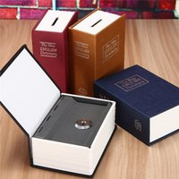 Storage Boxes & Bins Home Security Simulation Dictionary Book Case Cash Money Jewelry Locker Secret Safe Box With Key Lock