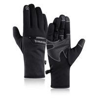 Ski Gloves Waterproof Warm Plus Velvet Unisex Windproof Touch Screen Outdoor Cycling Sports Snowboard Hiking Non-slip Glove