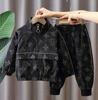 Kleinkind Baby Jungen Mädchen Kleidung Jacke + Hosen Kinder Sportswear Anzüge Kinder Kleidung Herbst Mädchen Designer Sets 1-6YEARS