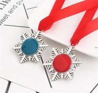 Criativo Christmas Chave Buckle Fivela Floco de Neve Fita Magia Keychain Liga de Zinco Papai Noel Presente Ornaments Árvore de Xmas Pendurado Hha7491