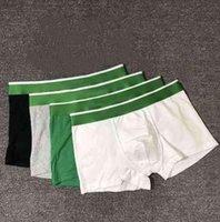 5pcs / lot Designer maschile Designer Underpants Boxer Breve casual traspirante maschio Biancheria intima Slip Slip Dimensioni M-2XL