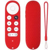 Smart Home Control for -Google TV 2021 Voice Remote Silicone Case Schutzabdeckung Haut 090F
