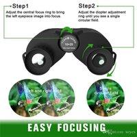 OEM High times 10X25 HD All-optical green film waterproof binoculars telescope for tourism Telescopio Hunting Sports Bird watch