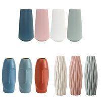 Nordic Vase Plastic Imitation Glaze Simple And Creative Flor...