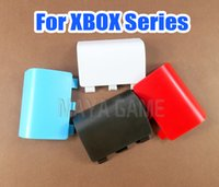 For Xbox One Series X S Wireless Controller Plastic Battery Shell Lid Back Case Replacement Housing Door Cover