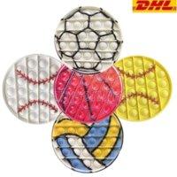 ABD Stok Parti Favor 12.5 cm Gobang Fidget Oyuncaklar Lot PAS Cher Reliver Anti Stres Topu Oyunu Futbol Beyzbol Şeyler Figet Oyuncaklar Yetişkin Çocuk Oyuncakları Kız Hediyeler