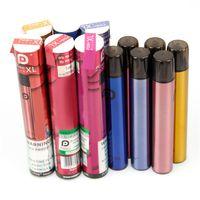 Posh Plus XL Disposable E Cigarette 5ML 1500 Puffs Vape Pen Stick Portable Pod System Vapor Bar with Dustproof Cap